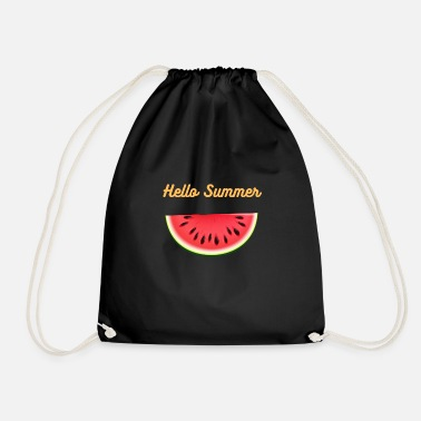 HELLO SUMMER - Drawstring Bag