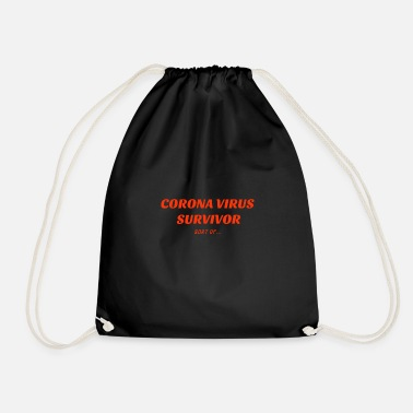 Corona Survivor - Drawstring Bag