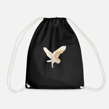 Barn Owl - Drawstring Bag