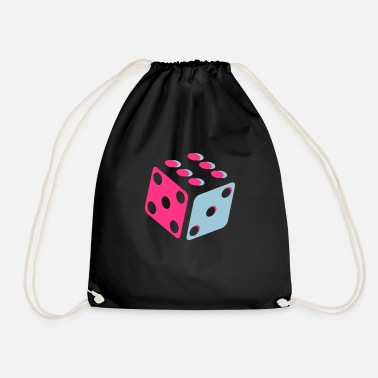 Dice Dice - Dice - Drawstring Bag