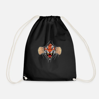 AufRiss (Tiger-Face-Edition) - Sac de sport léger