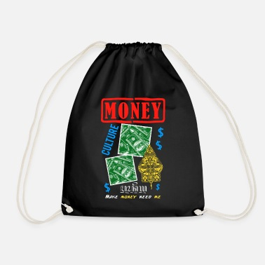 Canton Money Culture Graphic - Drawstring Bag