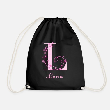 Name Day Lena name for daughter maiden name name day - Drawstring Bag