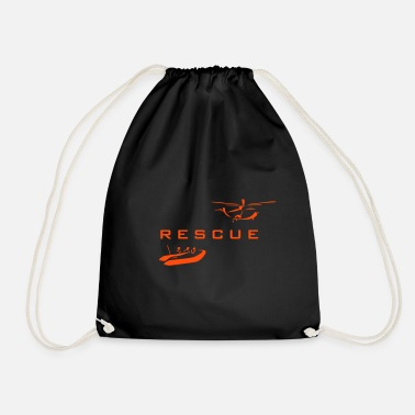 Rescue rescue - Drawstring Bag