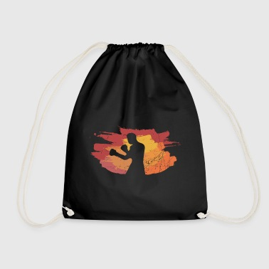 Boxing Paint Brush - Drawstring Bag