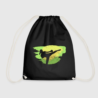 Kickboxing Paint Brush - Drawstring Bag