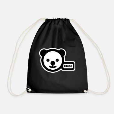 Potty potty-bear - Drawstring Bag