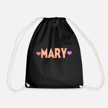 Marie Love Mary - Drawstring Bag