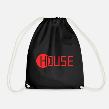 Music House Music logo - Drawstring Bag