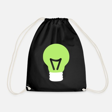 Light light bulb - Drawstring Bag