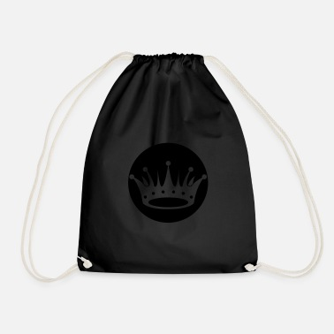 Prince crown 01 - Drawstring Bag