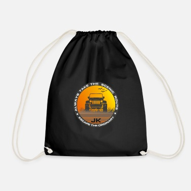 Jk Into the wild ... JK - Drawstring Bag