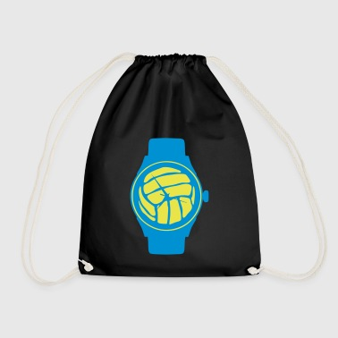 waterpolo volleyball balloon wristwatch - Drawstring Bag
