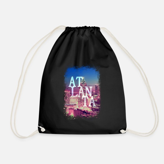 Capital Bags & Backpacks - Atlanta United States - Drawstring Bag black