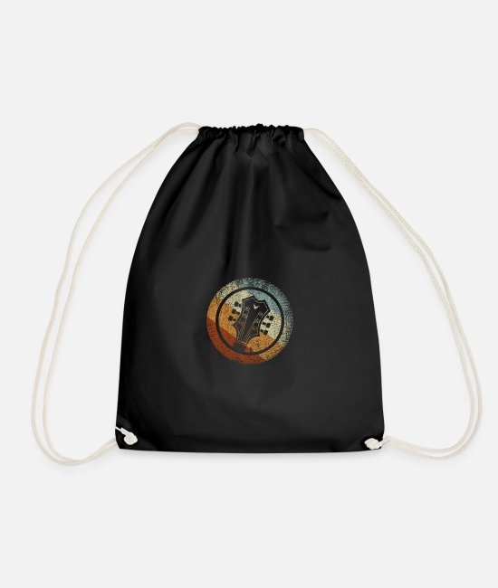Guitar Bags & Backpacks - guitar - Drawstring Bag black