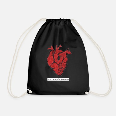 Corazon Beautiful heart - Corazon hermoso - Drawstring Bag