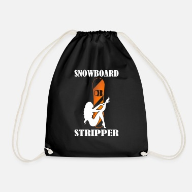 Stripper Snowboard stripper - Drawstring Bag