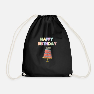 Happy Birthday Happy Birthday Shirt Enfants - Sac de sport léger