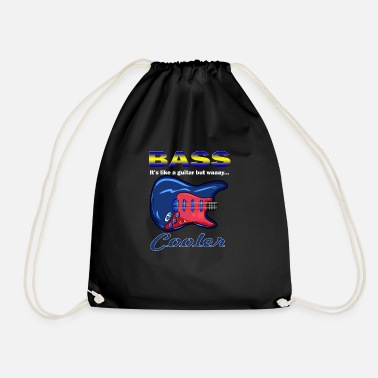 Bass Player bass player - Drawstring Bag