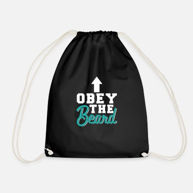 Obey Obey The Beard - Drawstring Bag