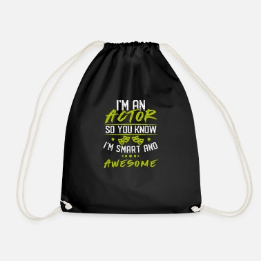 Actor actor - Drawstring Bag