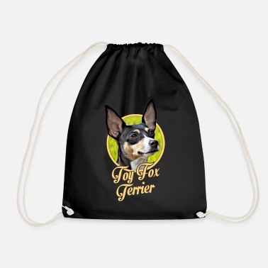 Toy Toy Fox Terrier - Drawstring Bag