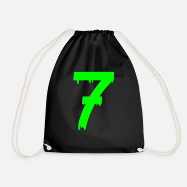 Age lucky number seven - Drawstring Bag