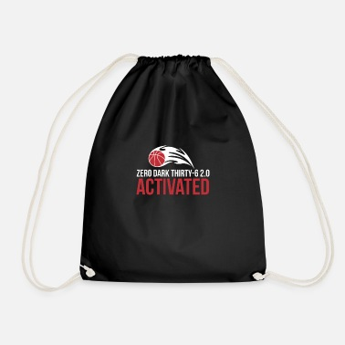 Basketball Sport Design T-Shirt - Drawstring Bag