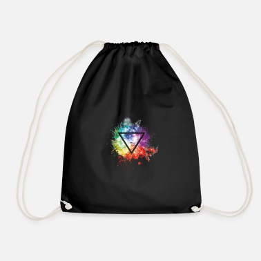 Triangle triangle - Drawstring Bag