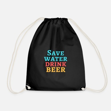 Save Water Save Water! - Turnbeutel