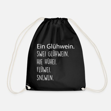 Mulled Wine A mulled wine. Two mulled wine. - Drawstring Bag