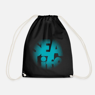 Sealife Sealife surfing tees, clothes and gifts FP24R01A - Drawstring Bag