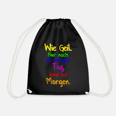 Nonsense nonsense - Drawstring Bag