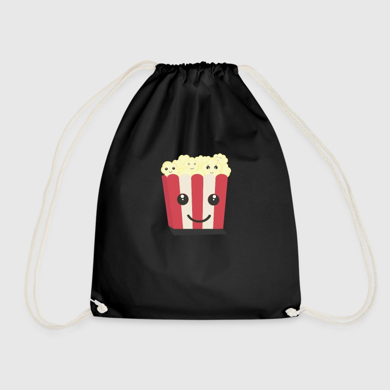 Popcorn-Kawaii-box - Drawstring Bag
