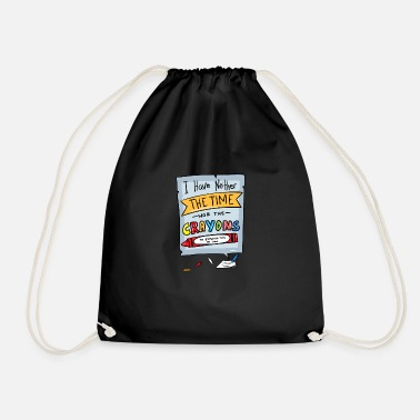 Sarcasm Funny Naughty Witty Sayings School - Drawstring Bag