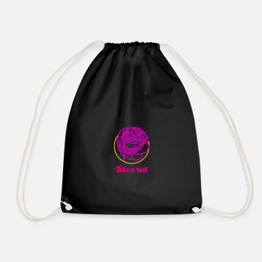Take Take a rest ... Take the rest - Drawstring Bag
