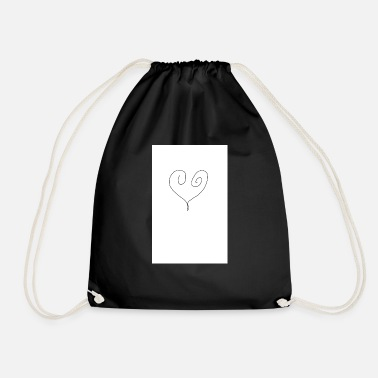 Corazon corazon - Drawstring Bag