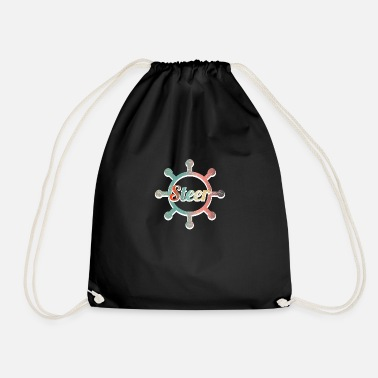 Steering Steer - Drawstring Bag