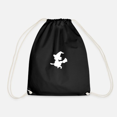 Witch Witch, broom, witch - Drawstring Bag