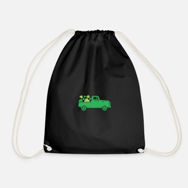 Ireland Shamrock Funny Irish Quote St Patricks Day Design - Drawstring Bag