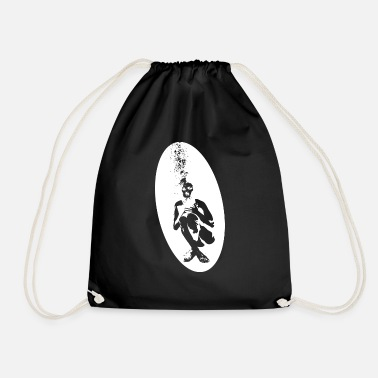 Drowning Drowning man - Drawstring Bag