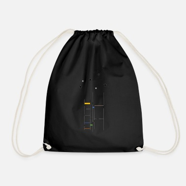 Stars To the stars - Drawstring Bag
