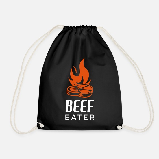 Bbq Bags & Backpacks - Beef Eater - Drawstring Bag black