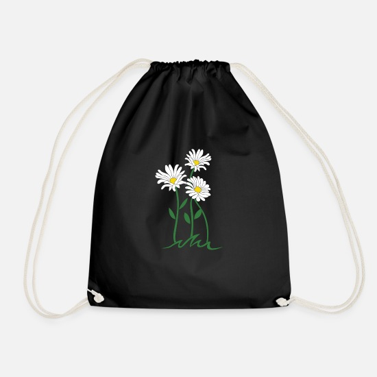 Daisy Bags & Backpacks - daisy - Drawstring Bag black