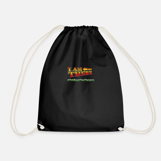 Fridays For Future Bags & Backpacks - Fridays For Future - Drawstring Bag black