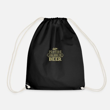 Beer toast hops gift Herrentag - Drawstring Bag