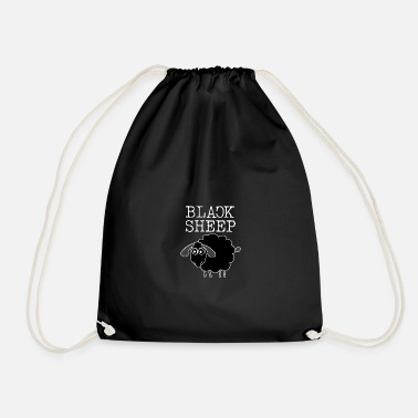 Black Sheep Black Sheep. Black sheep. Be different - Drawstring Bag