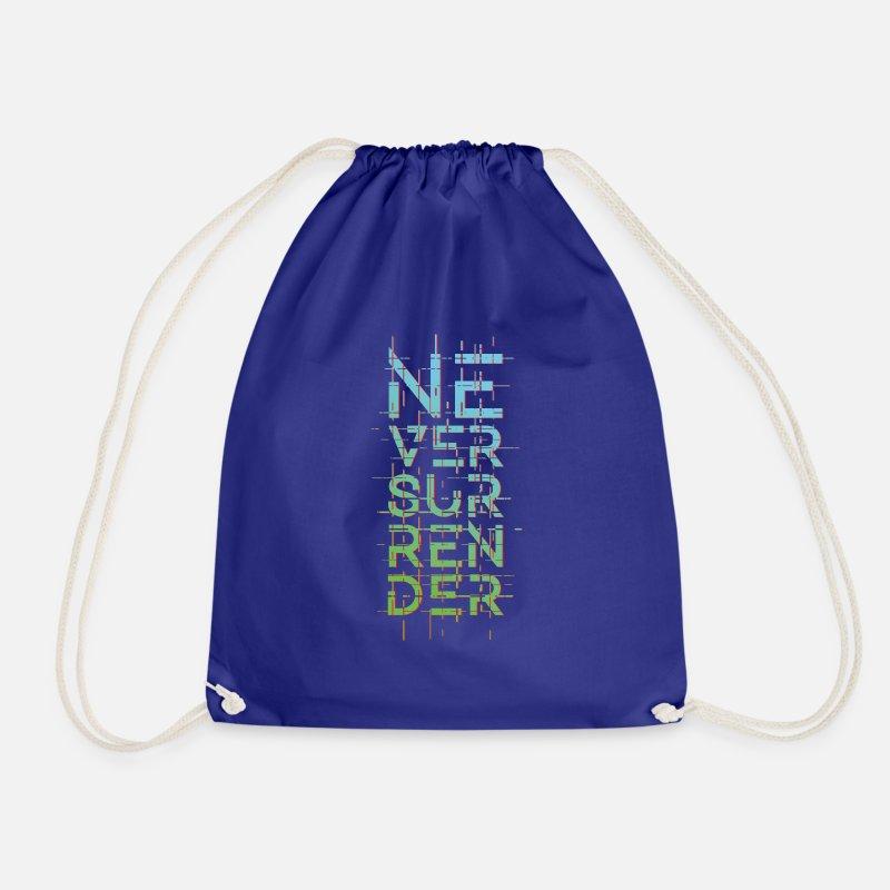Bestill Never Give Up Vesker & ryggsekker på nett | Spreadshirt