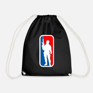 Soldier soldier soldier - Drawstring Bag