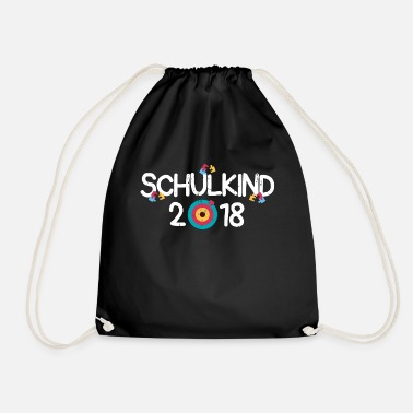 School Schoolchild enrollment elementary school gift idea - Drawstring Bag